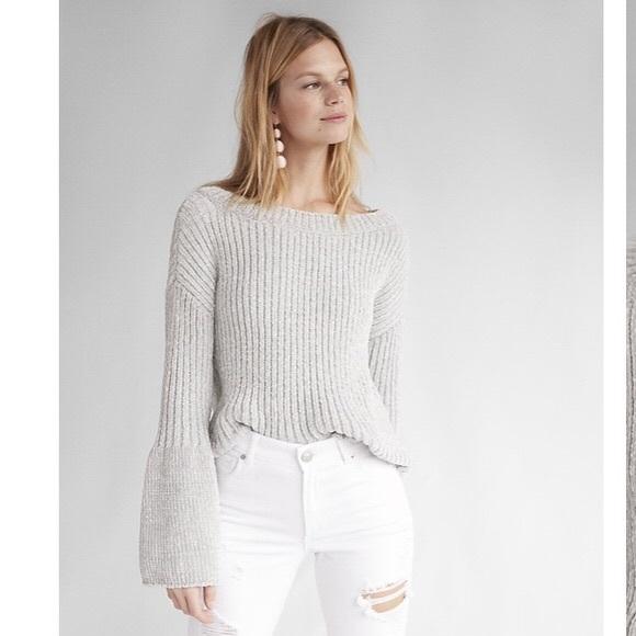 db0e70651f5b Express Sweaters | Bell Sleeve Sweater | Poshmark